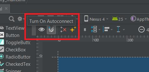 Turn off Autoconnect in Android Studio