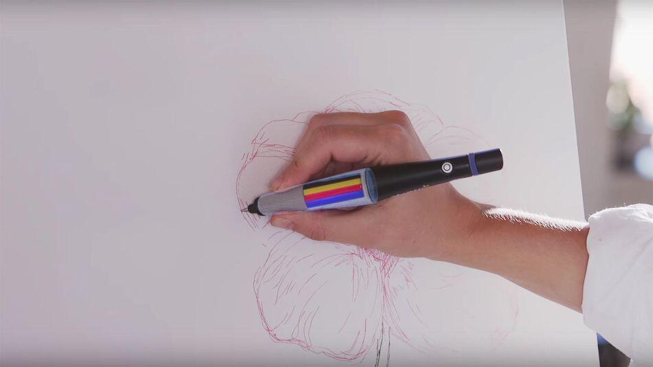 Pen That Enables You To Draw And Write In Any Color