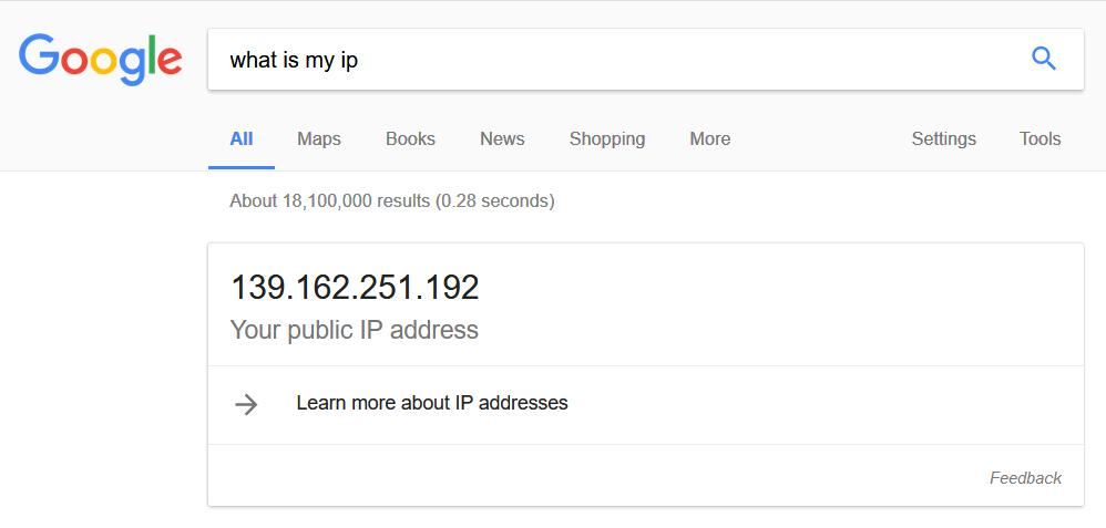 IP address using PROXY in Firefox