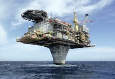 Norway's Draugen Oil Platform Is An Incredible Feat Of Engineering!