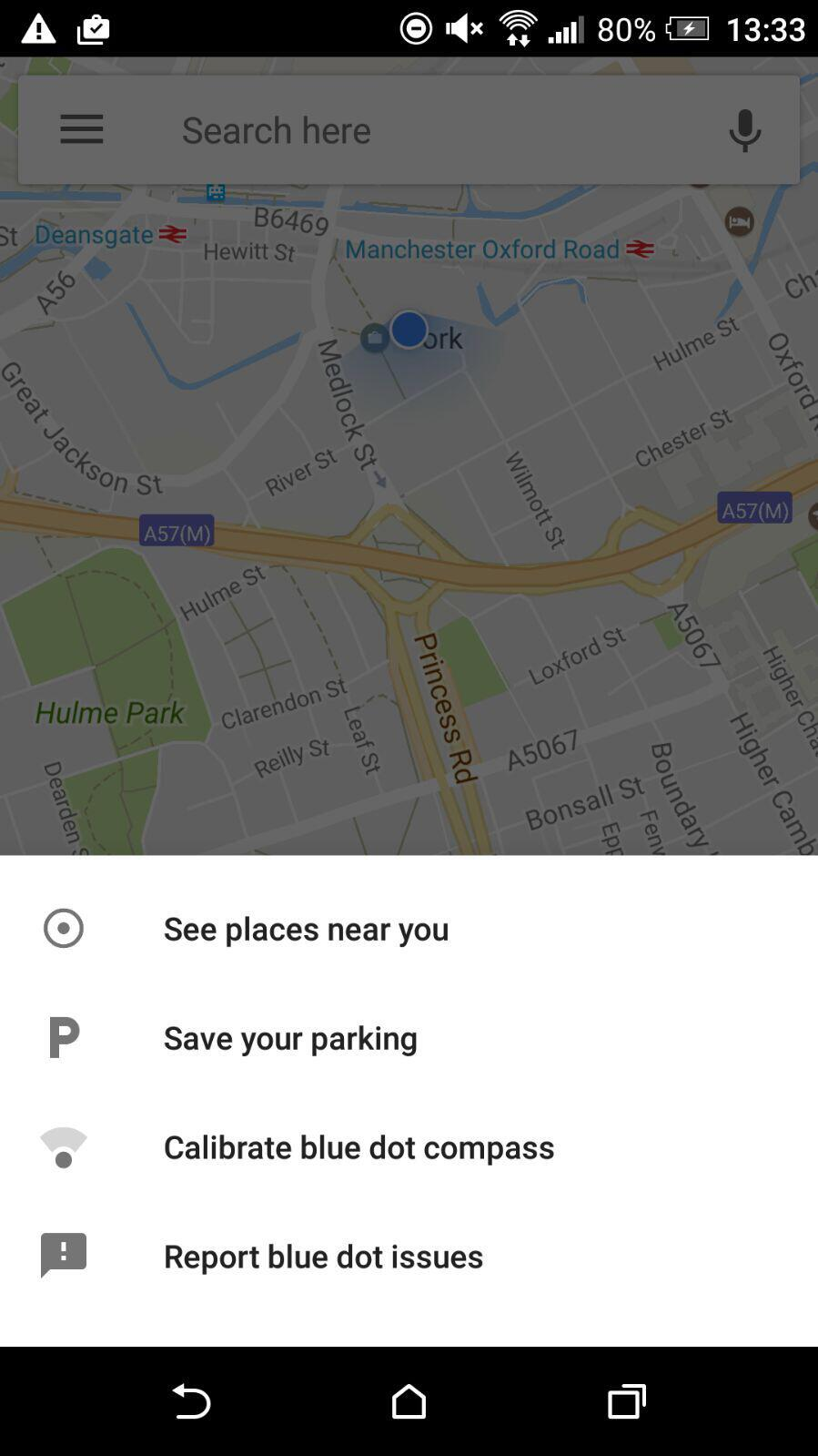 Save Your Parking Option Google Maps