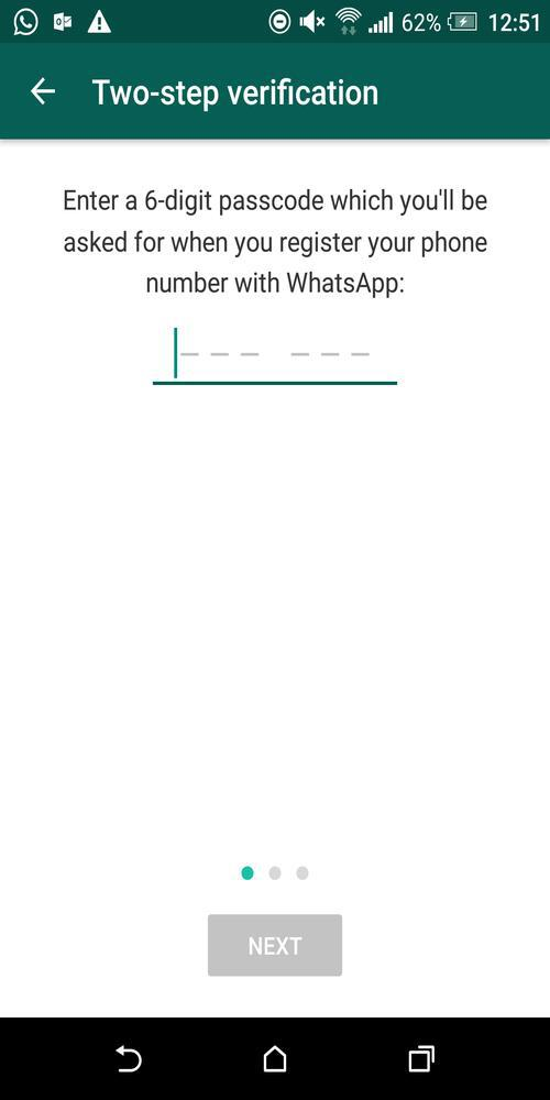 Enter 6-Digit Passcode To Enable Two-Step Verification On WhatsApp