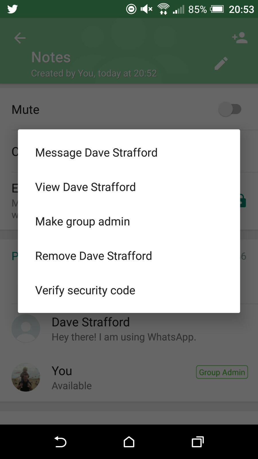 Remove Contact From WhatsApp Group