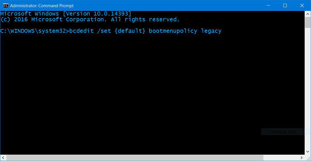Windows 10 Safe Mode Command Prompt Admin F8