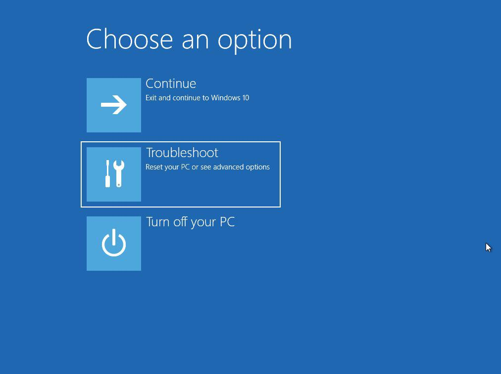 Windows 10 Safe Mode Troubleshoot