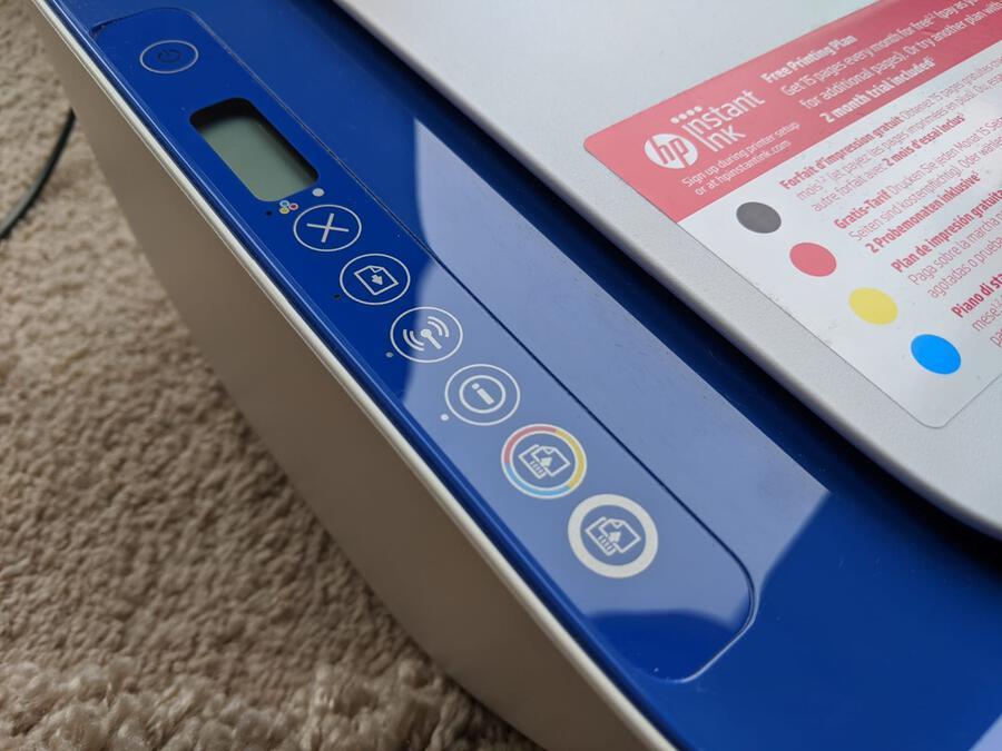 WPS Button Wireless Printer