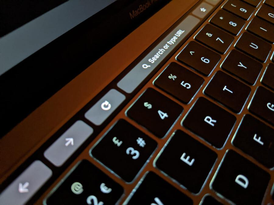 Touch Bar Omnibox